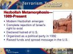hezbollah metamorphosis 1989 present