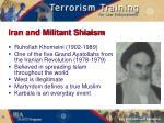 iran and militant shiaism