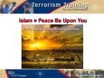 islam peace be upon you