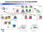 control architecture for 78 cooldown