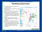 pacificorp quick facts