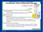 pacificorp s view of electricity storage