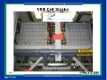 vrb cell stacks