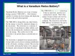 what is a vanadium redox battery