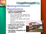 quasi governmental organizations