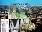 floor plan a cross