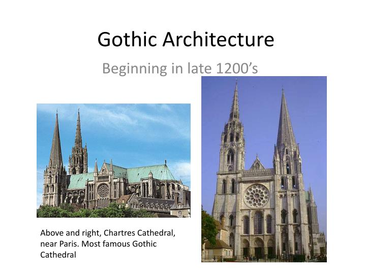 gothic architecture powerpoint templates image collections