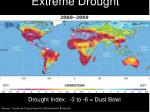 extreme drought