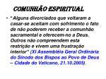 comunh o espiritual