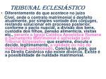 tribunal eclesi stico