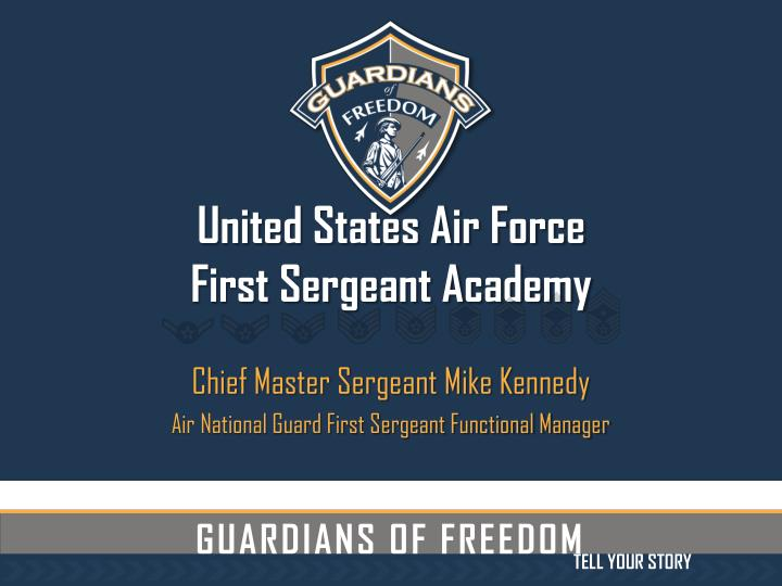 united states air force first sergeant academy n.