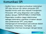komunikasi spi