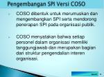 pengembangan spi versi coso1