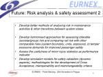 future risk analysis safety assessment 2