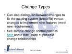 change types1