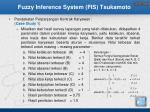 fuzzy inference system fis tsukamoto1
