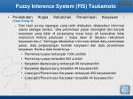 fuzzy inference system fis tsukamoto3