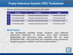 fuzzy inference system fis tsukamoto4
