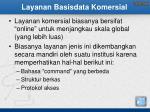 layanan basisdata komersial
