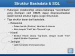 struktur basisdata sql