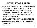 novelty of paper