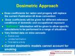 dosimetric approach