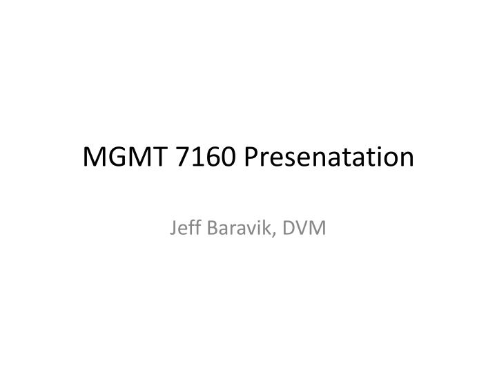 mgmt 7160 presenatation n.