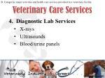 veterinary care services4