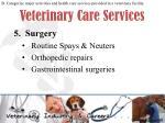 veterinary care services5