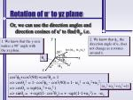 rotation of u to yz plane2