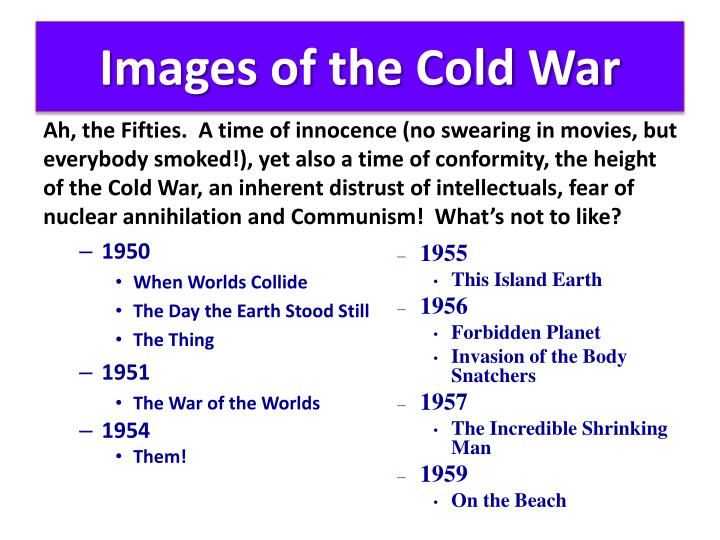 Images of the Cold War