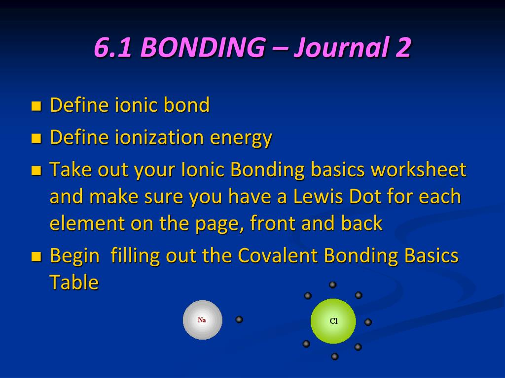 Ppt Chemical Bonds Ionic Powerpoint Presentation Free Download Id 6987044