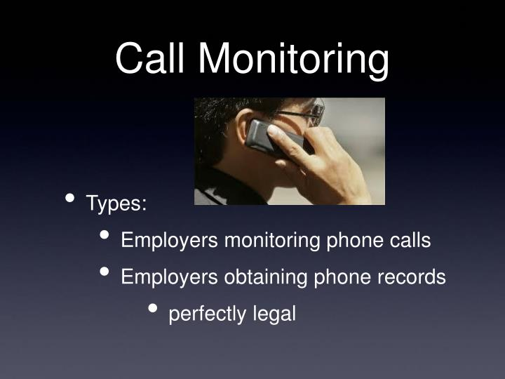 Call Monitoring