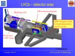 lhcb detector area