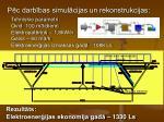 p c darb bas simul cijas un rekonstrukcijas