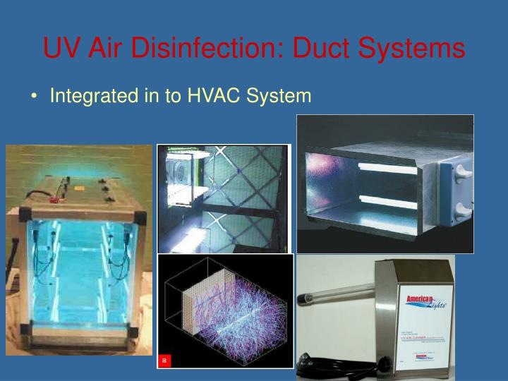 UV Air Disinfection: Duct Systems