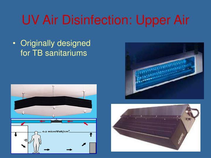 UV Air Disinfection: Upper Air