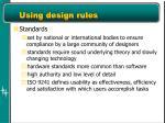 using design rules1