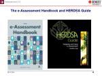 the e assessment handbook and herdsa guide