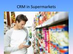 crm in supermarkets