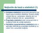 no iunile de baz a statisticii 1