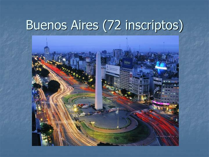 Buenos Aires (72 inscriptos)