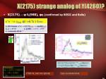x 2175 strange analog of y 4260