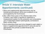 article v interstate water apportionments continued1