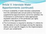 article v interstate water apportionments continued2