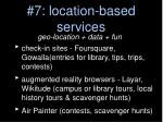 7 location based services