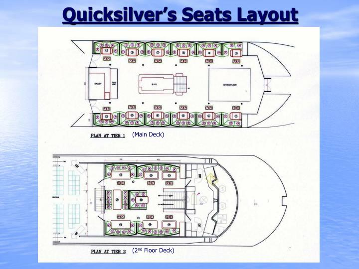 Quicksilver's Seats Layout