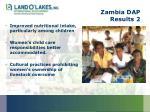 zambia dap results 2