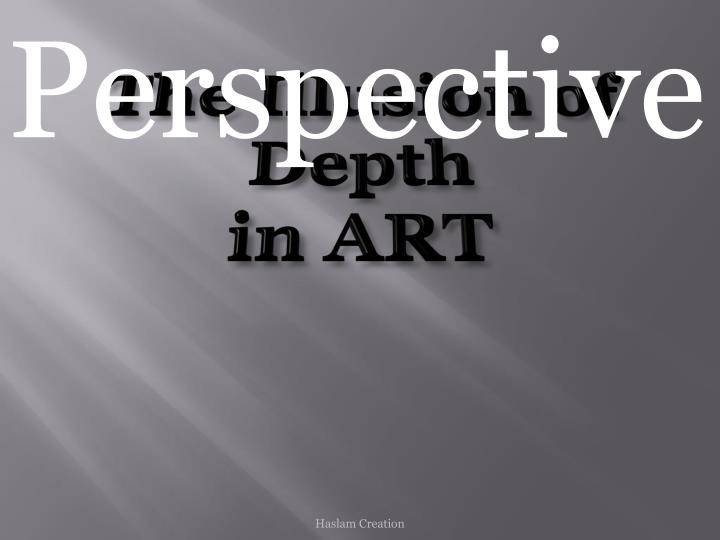 the illusion of depth in art n.