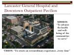 lancaster general hospital and downtown outpatient pavilion